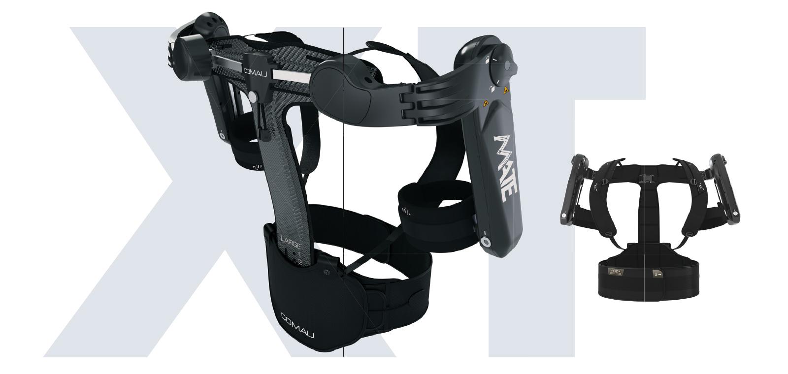 Exoskelett MATE-XT von Comau Funktion