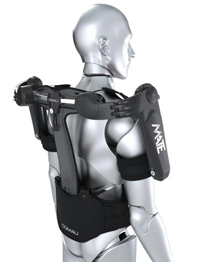 Exoskelett Seitenansicht