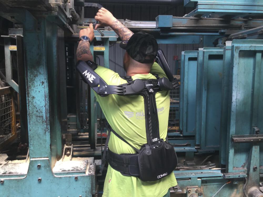 BGPM Forum – mit Exoskelett über Kopf arbeiten